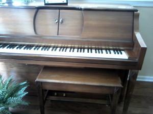 Beautiful Player piano